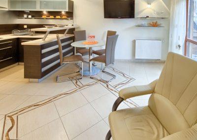 Sasanka - salon z TV
