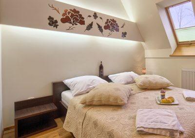 Sasanka - przytulna sypialnia