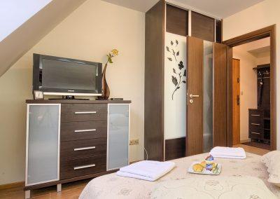 Sasanka - Telewizor w sypialni