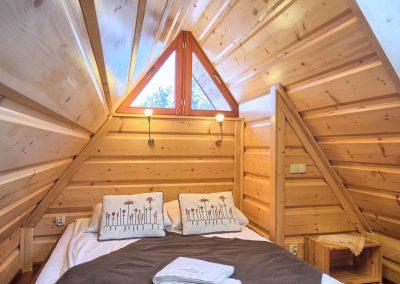 VisitZakopane - sypialnia na piętrze