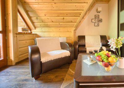 Dębowy - sofa i fotele