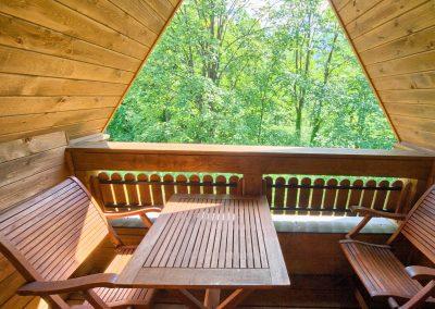 Dębowy - widok z balkonu