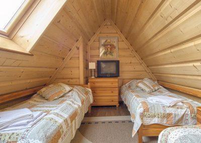Dębowy - sypialnia na piętrze