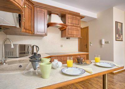 Tetmajerówka - śniadanie w apartamencie